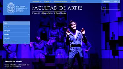 Facultad de Artes UC